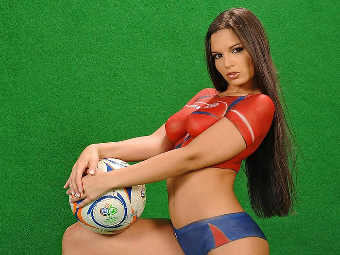 Sexy girls in body paint